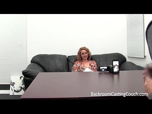 Blonde Stripper First Anal On Casting Couch