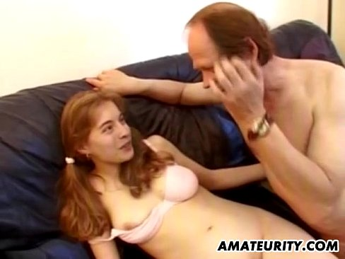 French Amateur Teen GF Anal Fuck With Facial