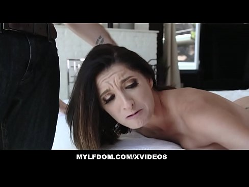 MYLFDOM – Busty Milf Fucked By Angry Stepson